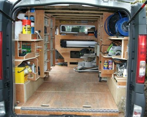 Super De Bedrijfsbus Inrichting Zelf Maken: 12 Voorbeelden Voor De Vakman &YV98